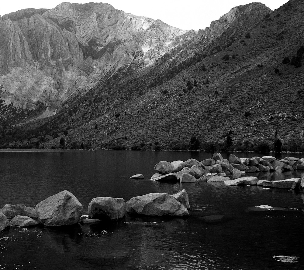 Convict Lake with rising trout | by bingley0522