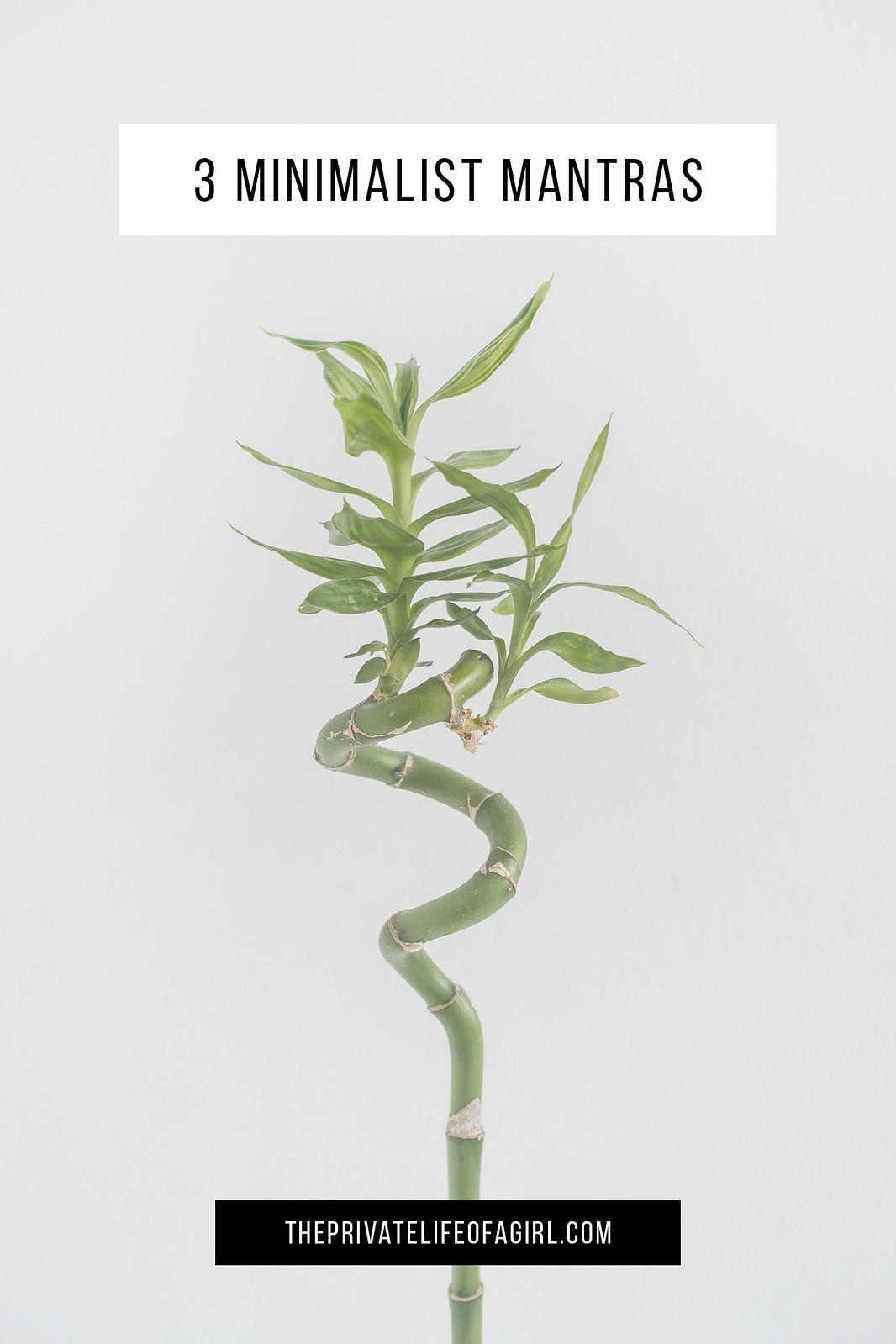 Minimalist Mantras