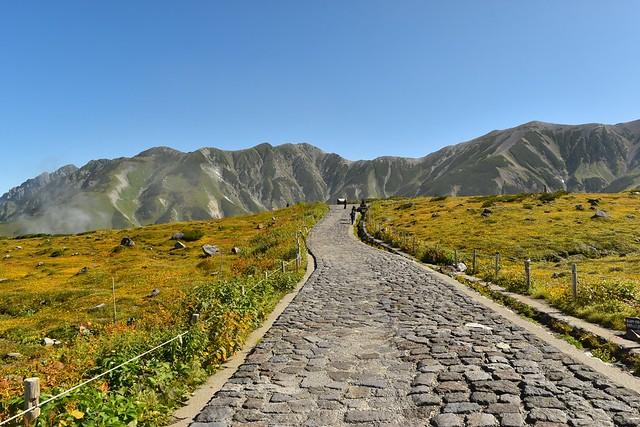 立山室堂の散策路