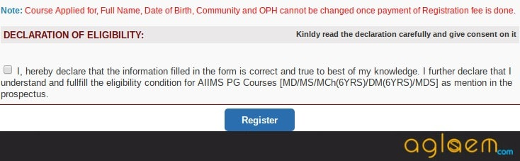 AIIMS PG Application Form 2018 | AIIMS PG Application Form Correction 2018