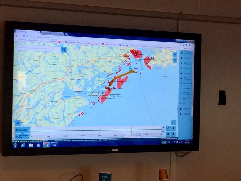 kystverket kart Kart med oversikt over berørte områder | Foto: Kystverket  kystverket kart