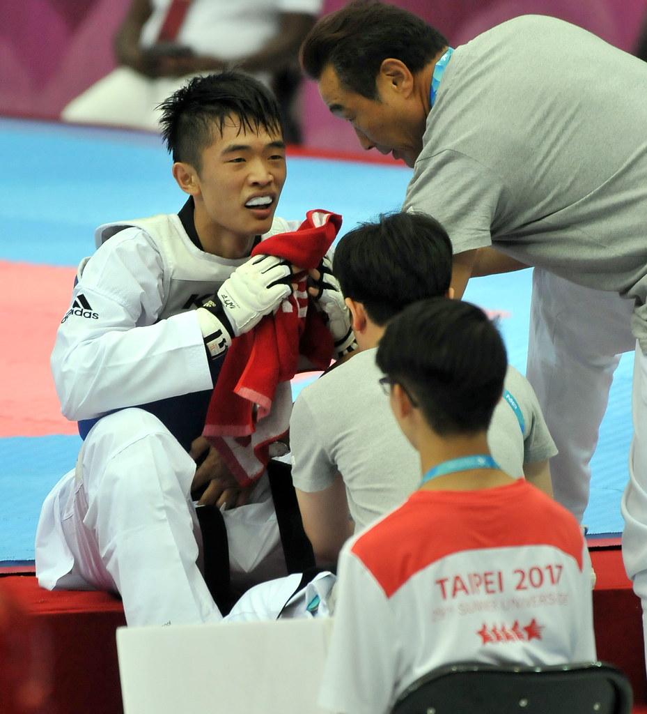 男子63公斤級何嘉欣。(組委會提供)