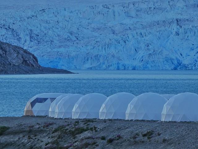 Campamento Fletanes en Qaleraliq (Sur de Groenlandia)