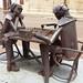 Uma das várias esculturas de Ricardo Carmona.