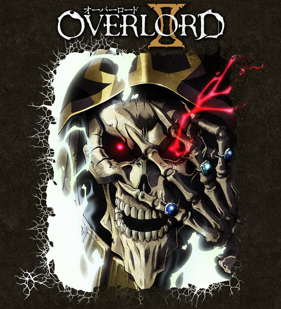 171001 - 第2位人物設計師「田﨑聡」畫新海報、OVERLORD動畫續集《オーバーロードII》宣布2018年1月放送!