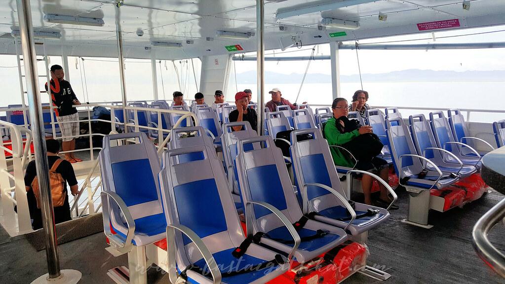 Open air Cebu to Ormoc Supercat Ormoc to Cebu