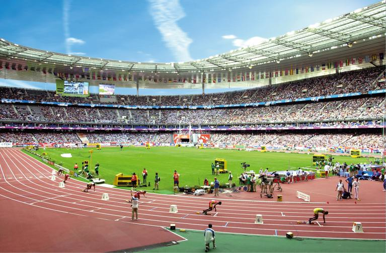 Stade de France athletics | The Connexion | Flickr