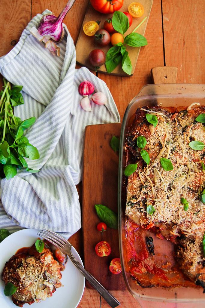 Parmesane d'aubergines recette