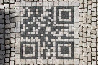 Prague sidewalk mosaic | by DavidSandoz