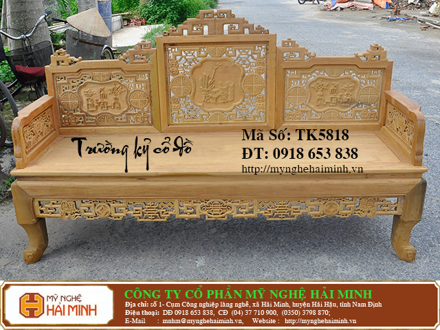 TK5818l   Bo Truong Ky co do    do go mynghehaiminh