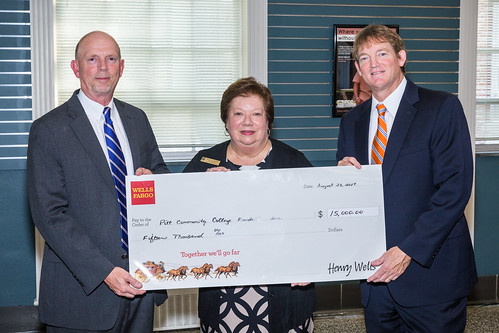Wells-Fargo Donation '17 | by Pitt Community College