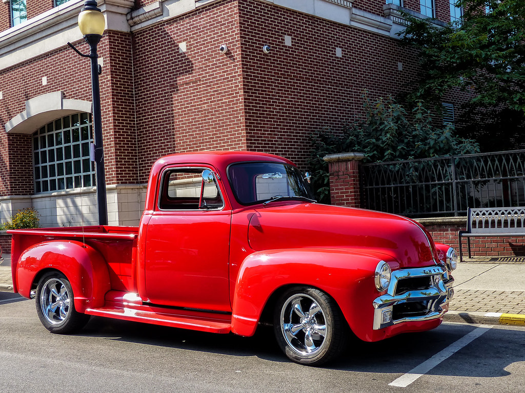 1954 Chevrolet Advance Design Pickup Truck Taken At The Ri Flickr By J Wells S
