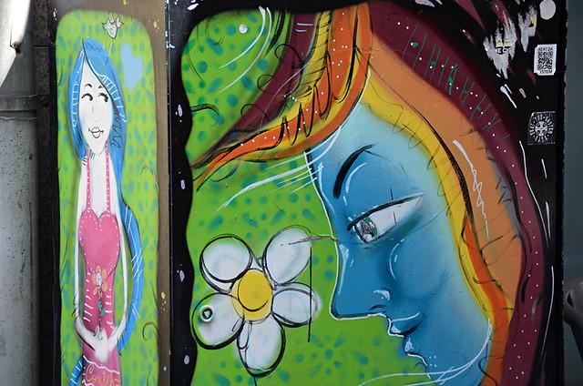 Urban art, Rua das Flores, Porto