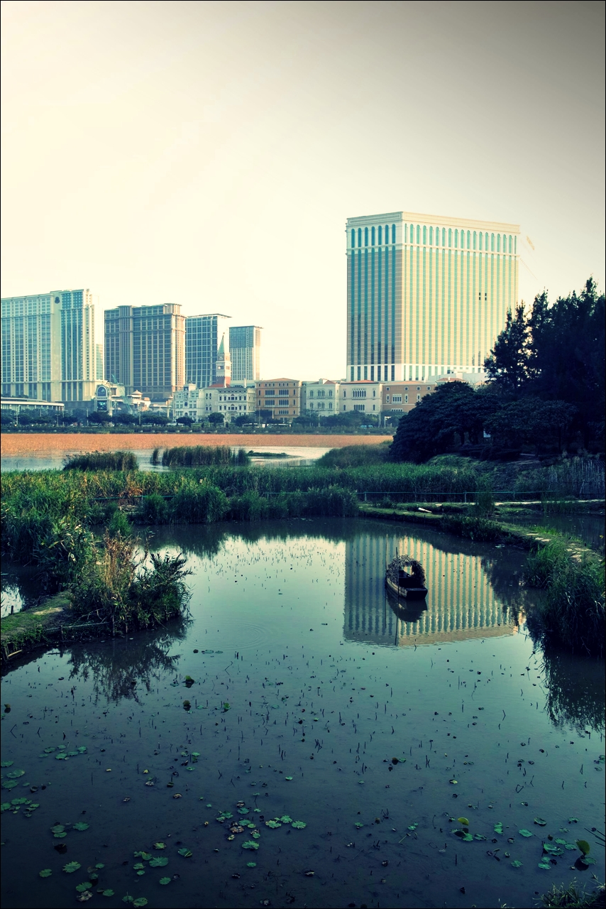 Taipa Houses Museum에서 본 호텔-'마카오 둘러보기(Macau Sightseeing)'
