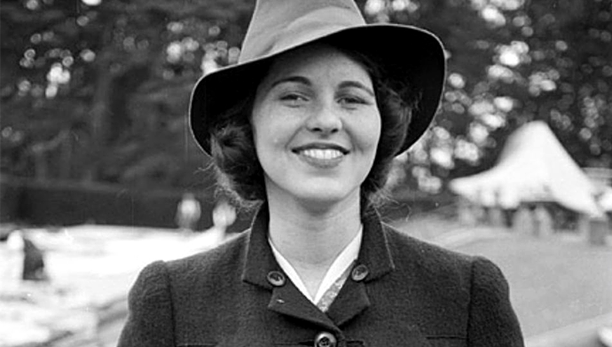 Rosemary Kennedy, una de las hermanas del famoso John F. Kennedy, quien fue sometida a una lobotomía a los 23 años.