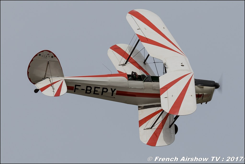 Stampe SV-4A - F-BEPY , Meeting aérien contre le cancer , Free Flight World Masters Rodez-Aveyron , FFWM2017 , Meeting Aerien 2017