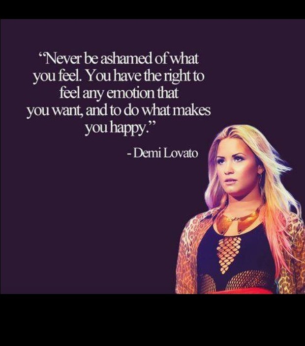 Celebrity Quotes Demi Lovato Quote Feelings Emotional Flickr