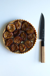 simplest plum tart | by awhiskandaspoon