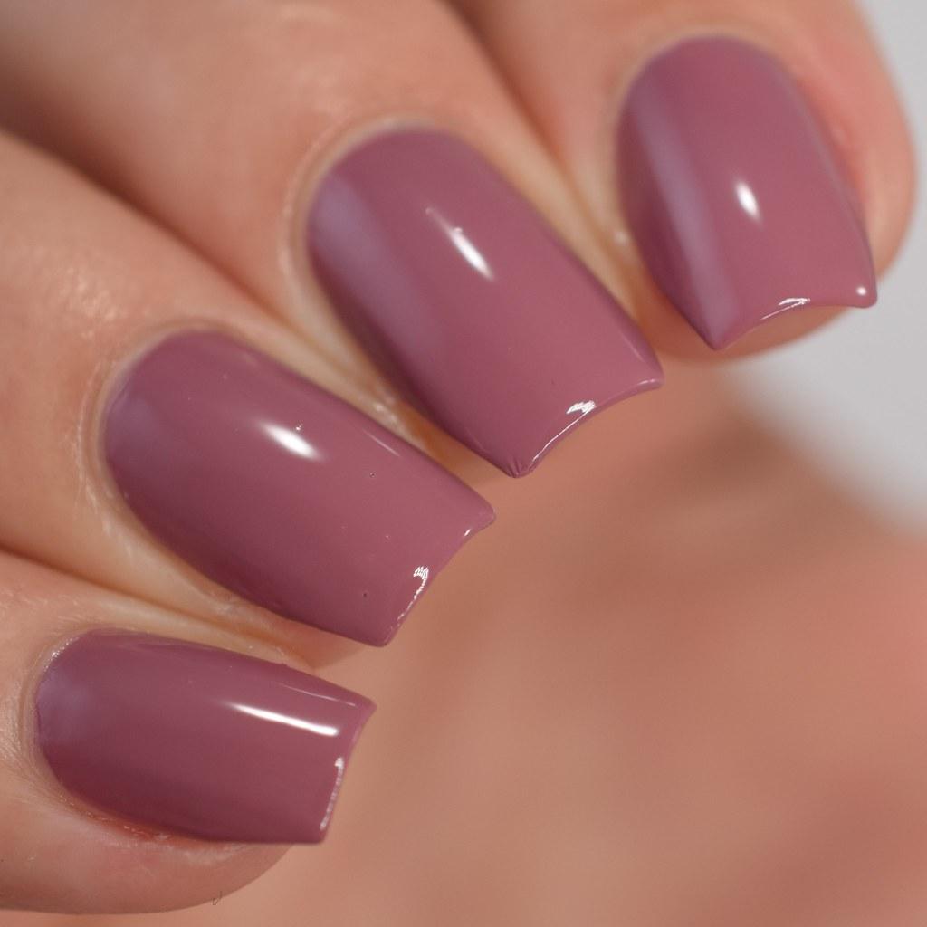 Mary Kay Rose Blush nail polish swatch