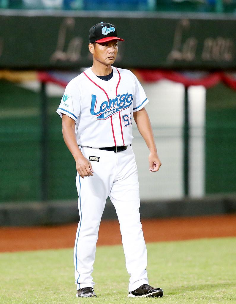Lamigo桃猿首席教練林振賢。(中職提供)