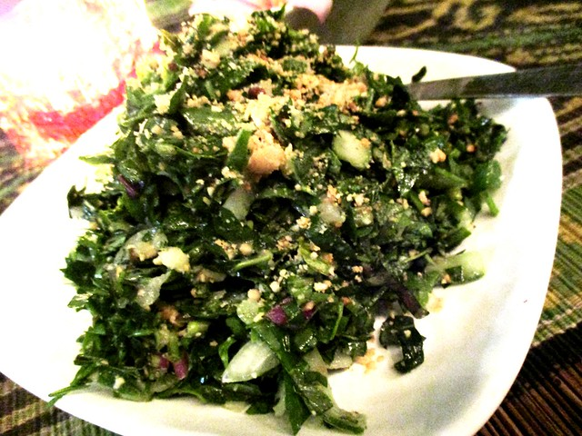 Payung herbs salad