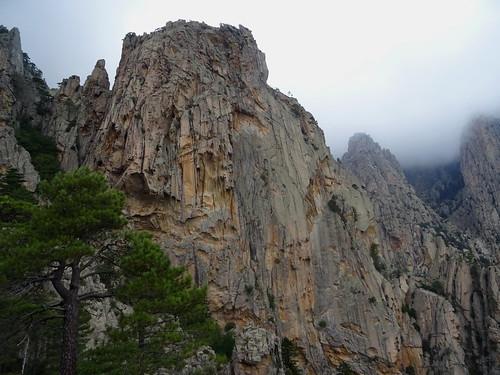 Pointes des contreforts Est de Punta di A Calancona