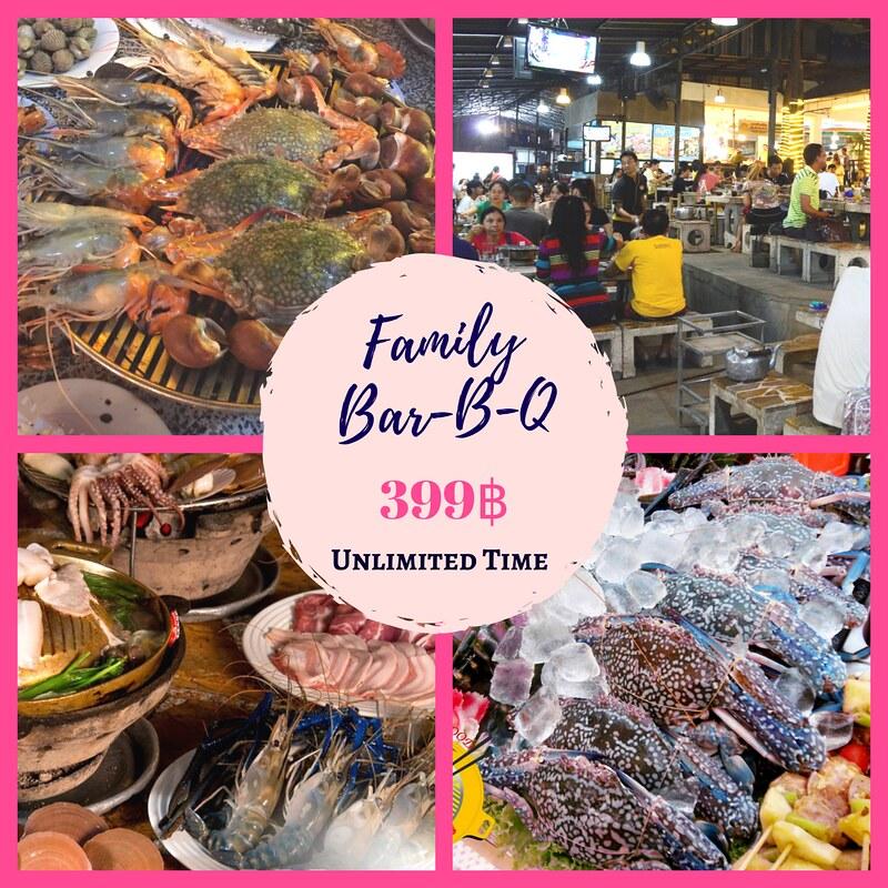 曼谷高性价比必吃海鲜烧烤 BBQ Buffet 泰国旅游 第2张