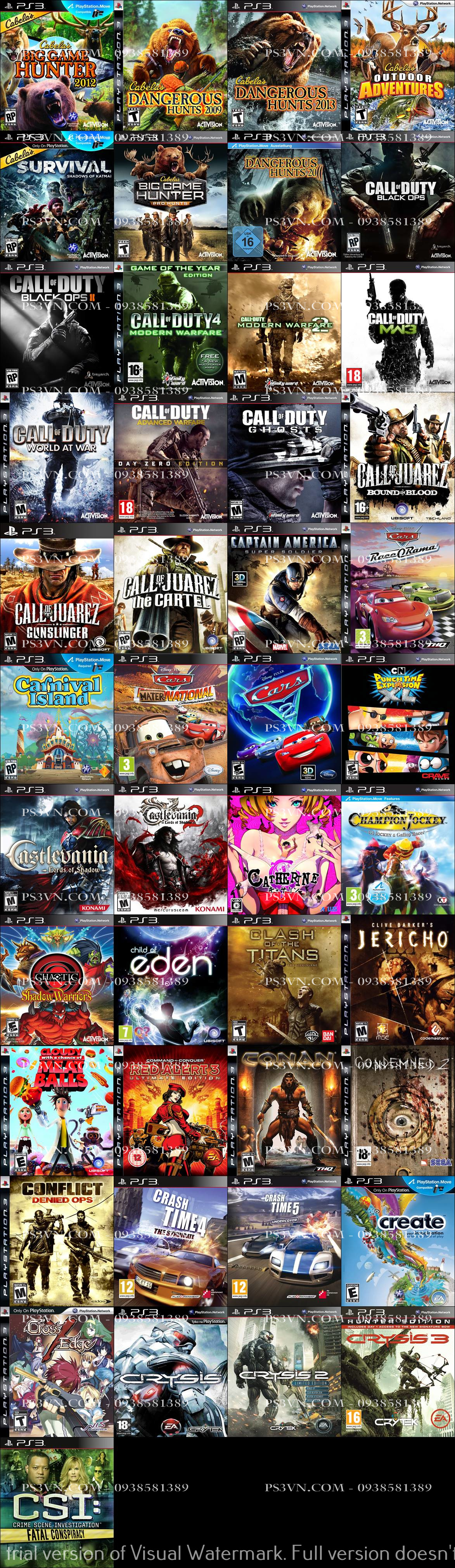 Chép Game PS3 tại nhà giá rẻ nhất TPHCM - PS3VN.COM - 7