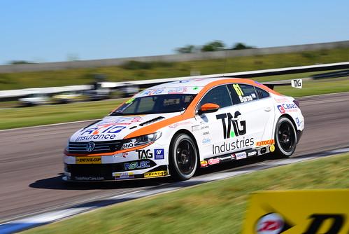 Will Burns, Volkswagen CC, British Touring Car Championship, Rockingham 2017