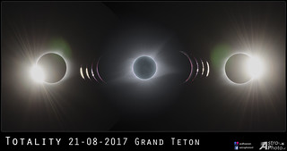 Totality Eclipse 2017 Grand Teton | by Andre vd Hoeven