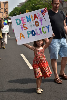 DC Climate March  129 - Denial Is Not a Policy | by Amaury Laporte