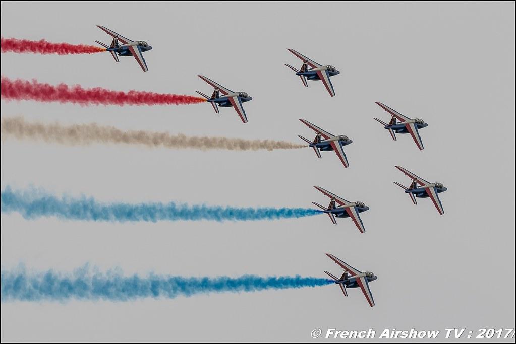 Patrouille de France , Alphajet , Athos , Meeting aérien contre le cancer , Free Flight World Masters Rodez-Aveyron , FFWM2017 , Meeting Aerien 2017