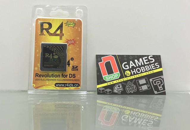Thẻ R4i DSN dùng để chơi game DS trên máy 2DS và 3DS