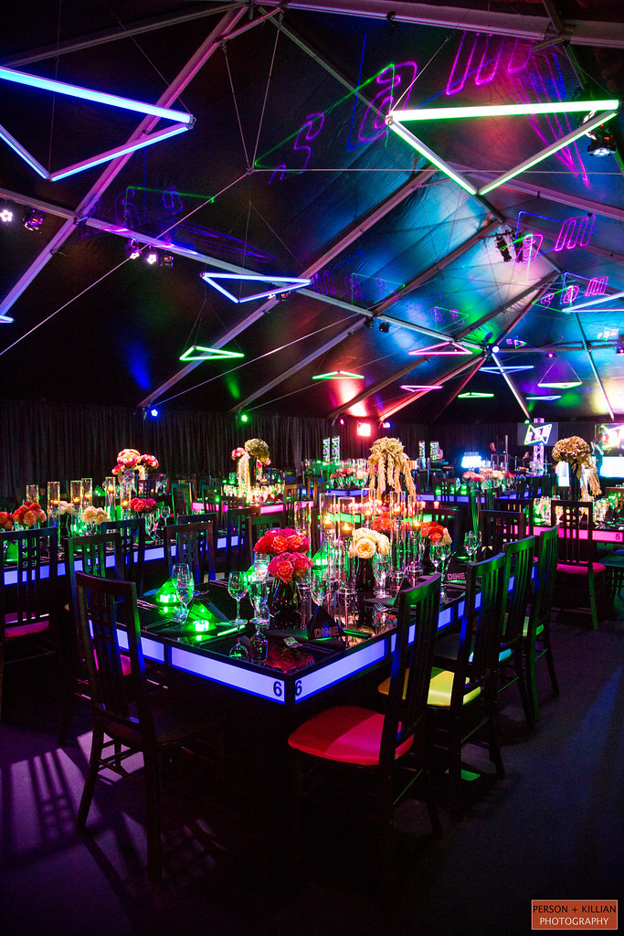 ... Neon Light Up Tables Events And Parties | By The Prop Factory