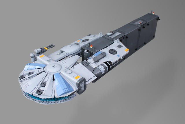 YT-1450 Light Freighter - 'The Nadir', by o0ger, on Eurobricks
