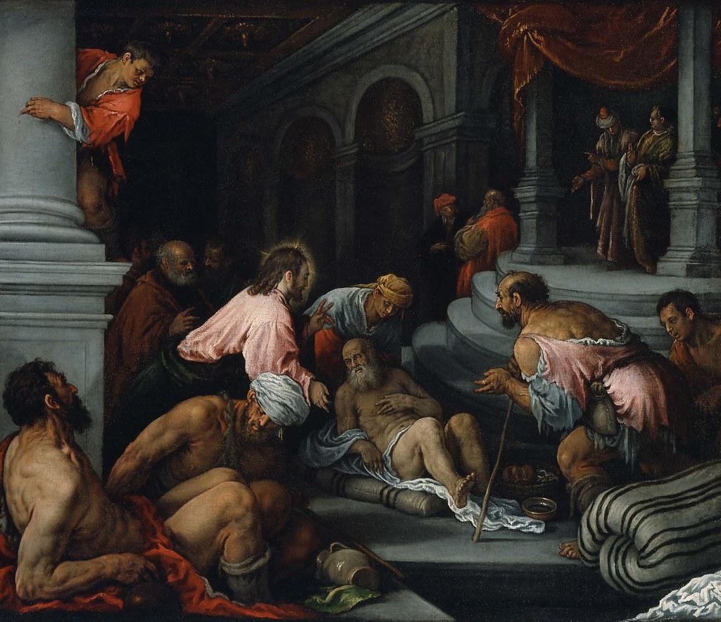 Картинки по запросу christ healing the lame man