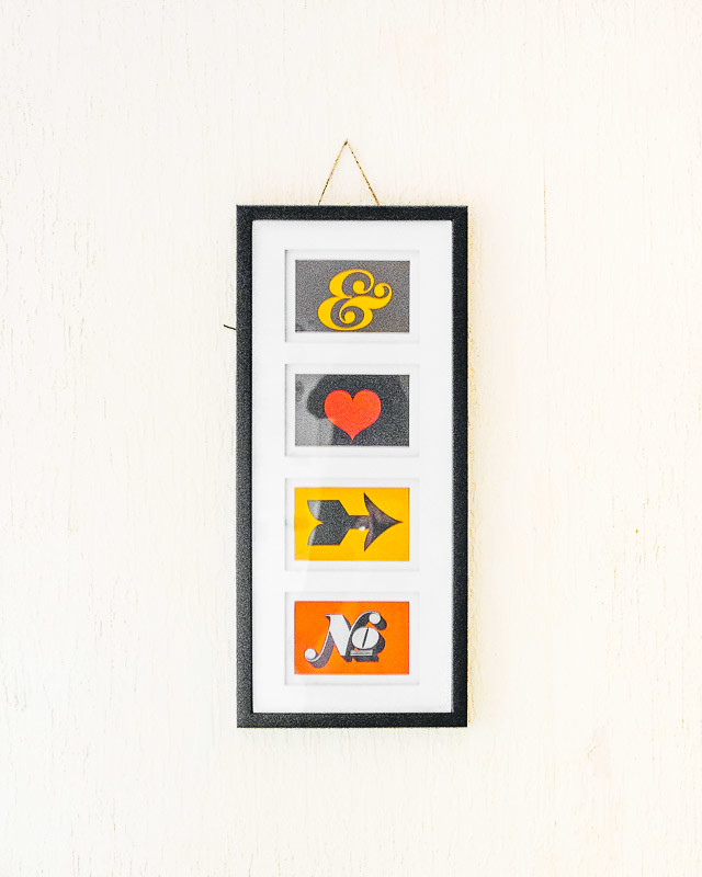 framed house design postcards