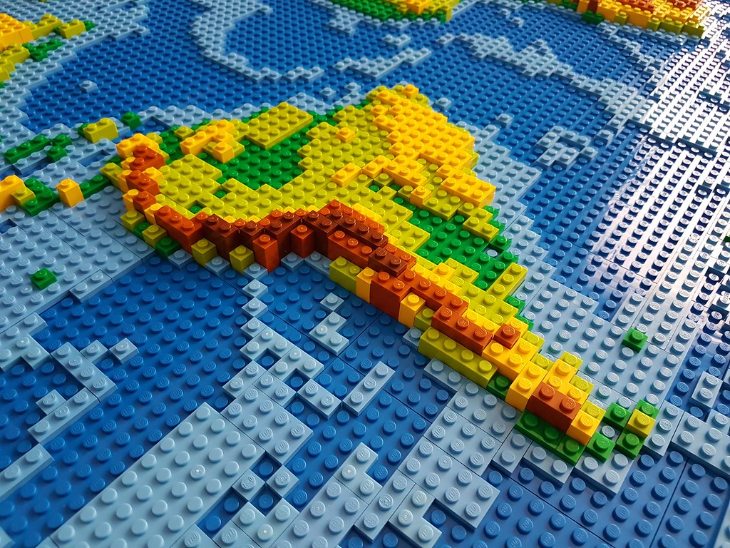 dirks lego world map 18 closeup south america if you want u2026 flickr
