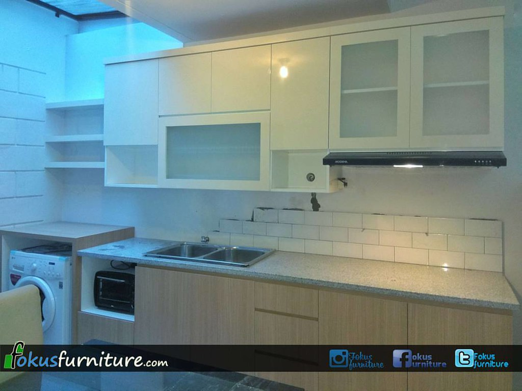 Kitchen set project @Perumahan Neo permata Bintaro. #fokus…   Flickr