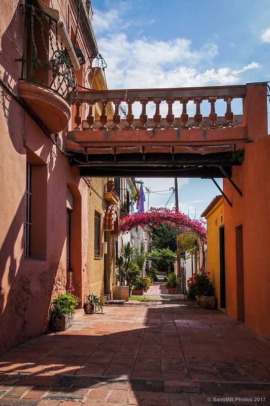 Carre d'Aiguafreda en el barrio de Horta