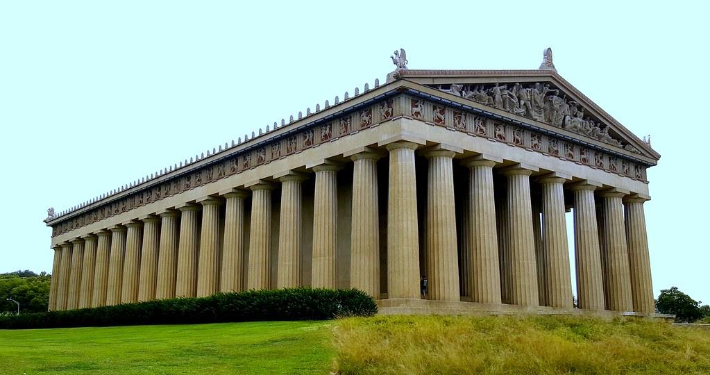 The Parthanon - Centennial Park - Nashville