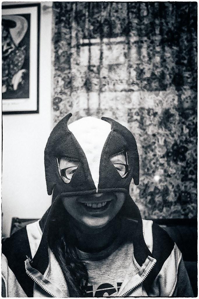 Masked girl / Chica enmascarada | by La Chachalaca Fotografía