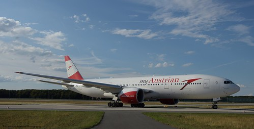 OE-LPD - B777-2B8ER - Austrian Airlines | by Frankfurt Aviation Photography