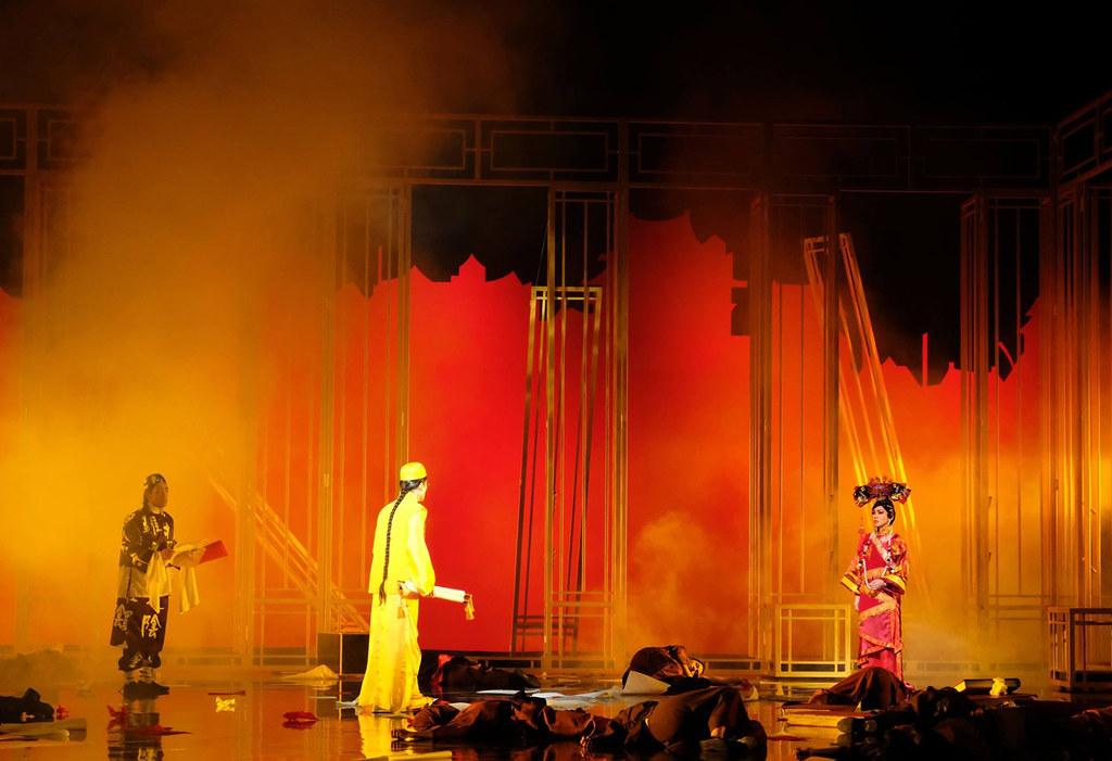 Lighting design - War and Riots | Photo Credits: Singapore Repertory Theatre