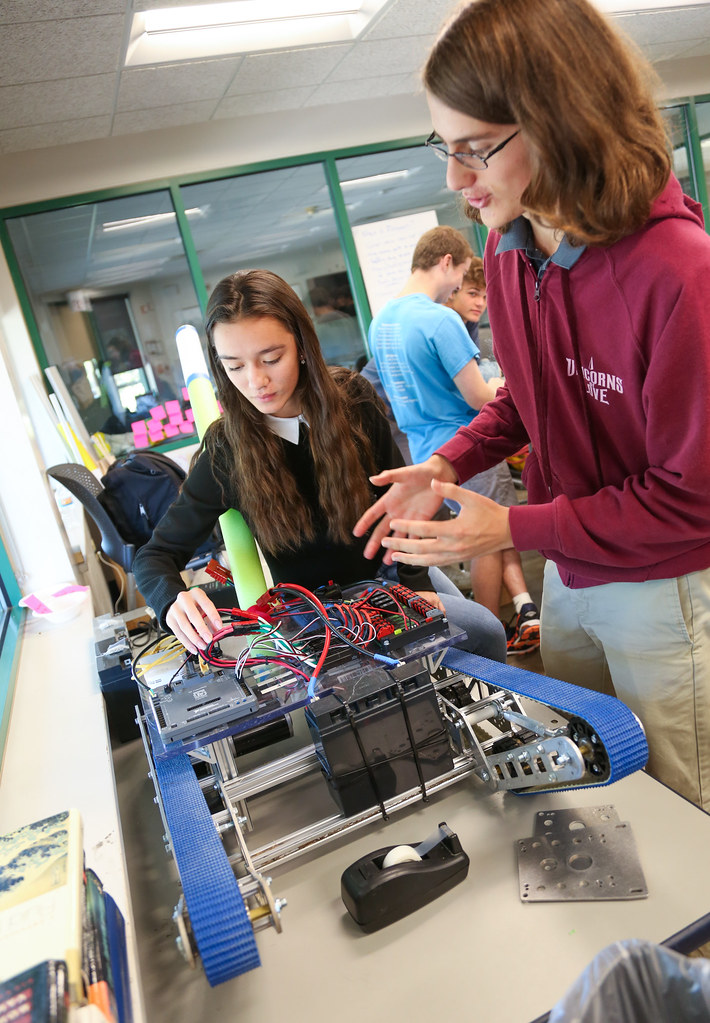 Robotics Classroom Durham Academy Flickr