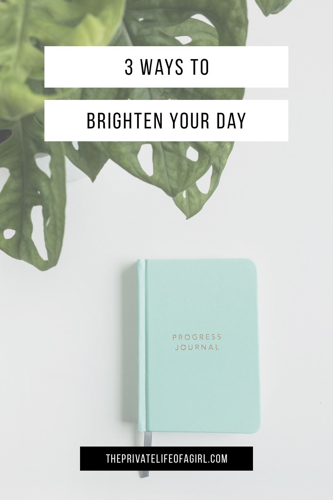 Brighten Your Day, 3 Ways