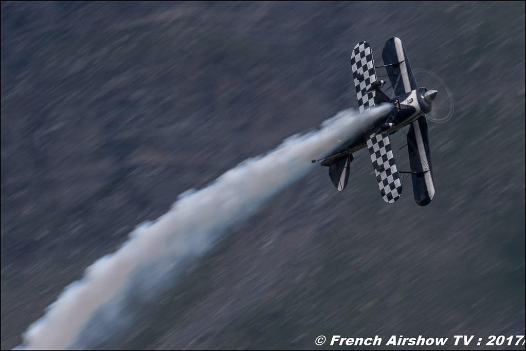 Pitts S-2B Special - F-HBOB 50ans d'Aviation Megeve 2017 - altiport de Megève , Haute-Savoie, Auvergne-Rhône-Alpes , Meeting Aerien 2017