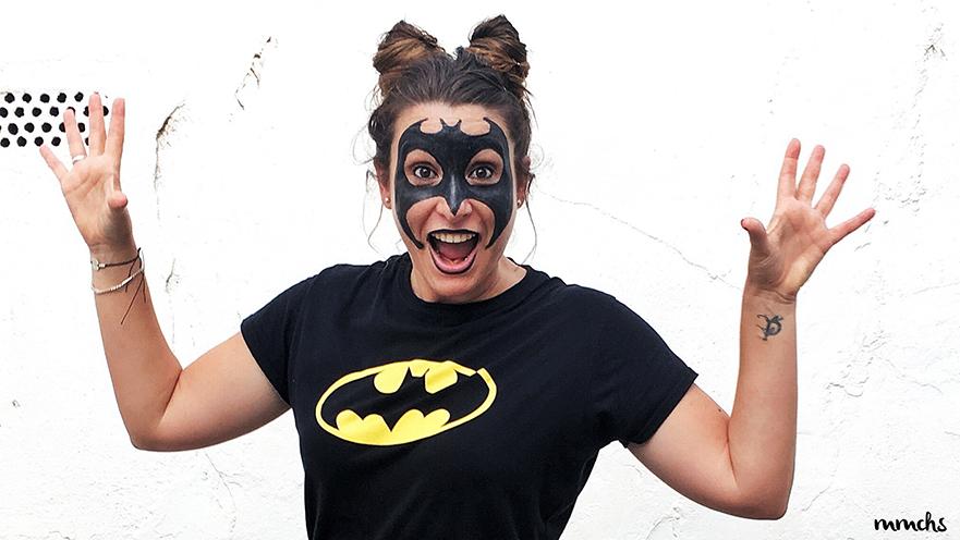 Maquillaje Batman fiesta disfraces