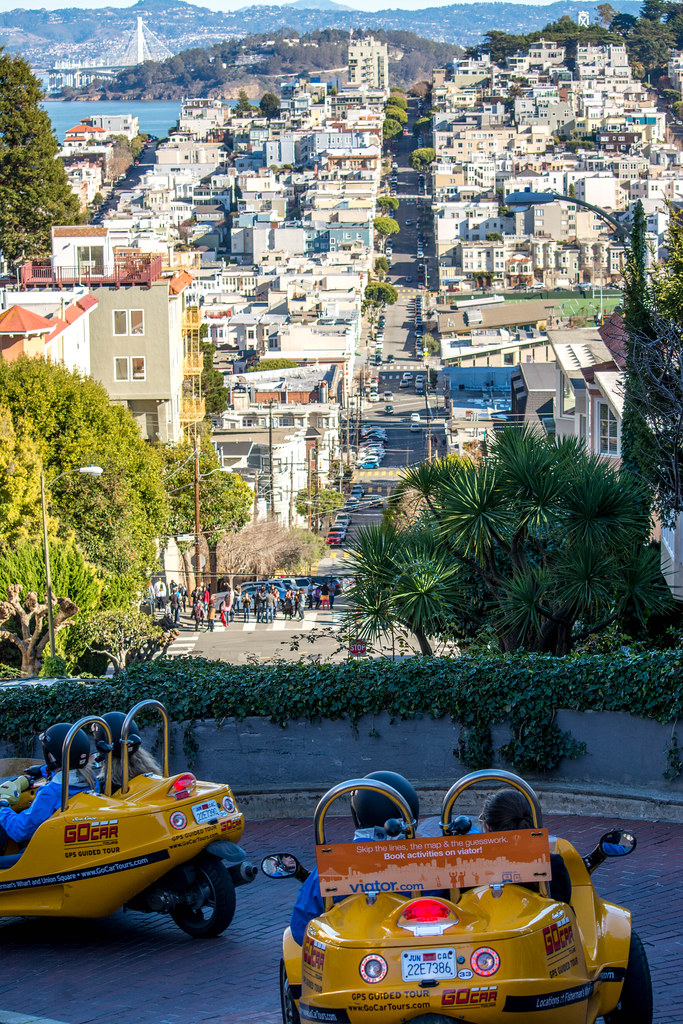 Lombard Street San Francisco California Mark Klinchin Flickr