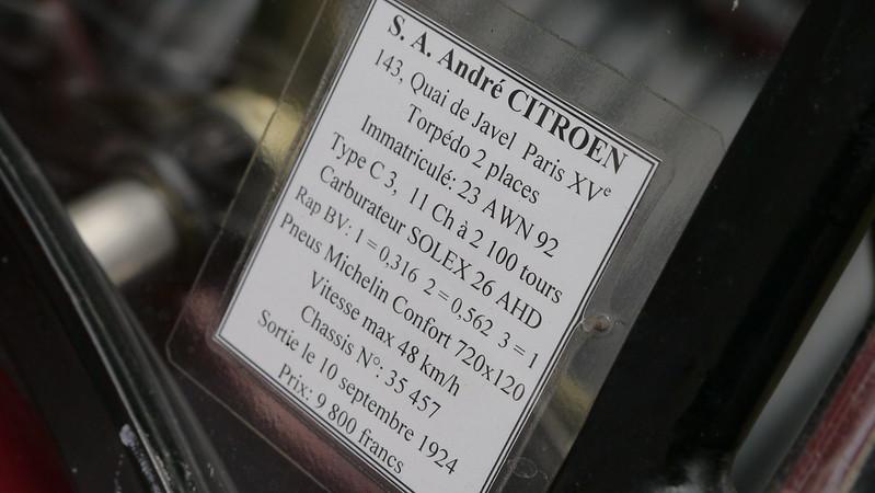 Citroen Torpédo type C4 1924 - Suresnes (92) Septembre 2017 37077422516_ef9e7fb112_c
